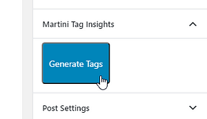 Generate tags